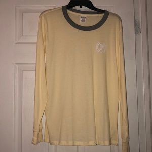 PINK ☀️ Yellow Long sleeve Top